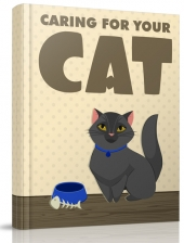 Caring For Your Cat eBook with private label rights