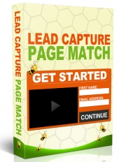 Lead Capture Page Match Video with Private Label Rights