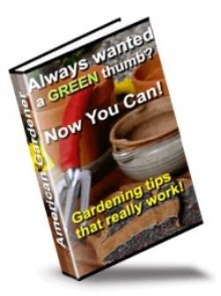 American Gardener : Gardening tips that really work!