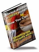 American Gardener : Gardening tips that really work! eBook with Resell Rights