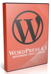 Beginners Video Course For Wordpress V4.3 Video with Master Resell Rights