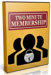 Two Minute Membership Video with Personal Use Rights