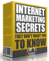 Internet Marketing Secrets by Ian del Carmen Video with Master Resell Rights