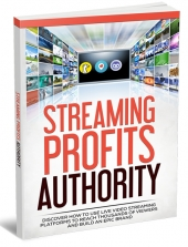 Streaming Profits Authority eBook with private label rights