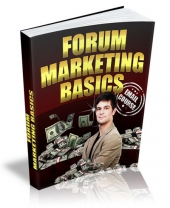 Forum Marketing Basics 2015 eBook with Private Label Rights