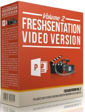 Freshsentation Volume II Template with Personal Use Rights/Developers Rights