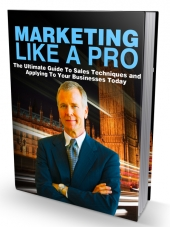 Marketing Like a Pro eBook with Master Resell Rights