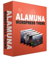 Alamuna WordPress Theme Template with Personal Use Rights