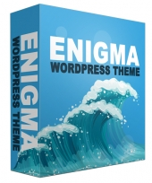 Enigma WordPress Theme Template with Personal Use Rights