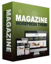 New Magazine WordPress Theme Template with Personal Use Rights