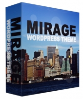 Mirage WordPress Theme Template with Personal Use Rights