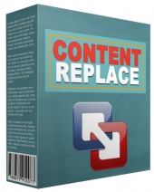 Content Replace WP Plugin Software with Personal Use Rights