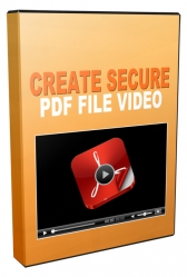 Create Secured PDF Files Video with Master Resell Rights/Giveaway Rights