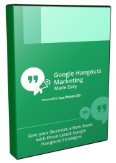 Google Hangouts Marketing Made Easy Video with Personal Use Rights
