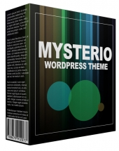 Mysterio WordPress Theme Template with Personal Use Rights