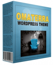 Amazing Omaterra WordPress Theme Template with Personal Use Rights
