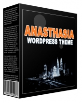 WP Theme Anasthasia Template with Personal Use Rights/Developers Rights