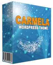 Carmela Premium WordPress Theme Template with Personal Use Rights/Developers Rights