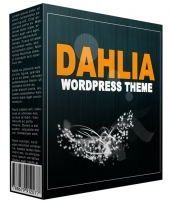Dahlia WordPress Theme 2015 Template with Personal Use Rights/Developers Rights
