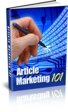 Article Marketing 101 eBook with Resell Rights