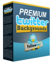 New Premium Twitter Background Graphic with Personal Use Rights