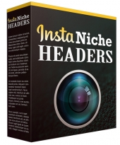 Insta Niche Headers Graphic with private label rights