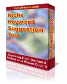 Niche Keyword Suggestion Tool Version 2.5 Software with Personal Use Rights