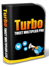 Turbo Tweet Multiplier Pro Software with Personal Use Rights