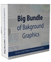 Big Bundle Of Background Graphics Graphic with private label rights