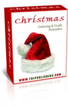 Christmas Coloring & Crafts Printables eBook with Master Resale Rights