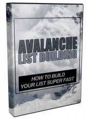 New Avalanche List Building Video with private label rights