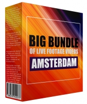 Big Bundle Of Live Footage Videos - Amsterdam Video with Personal Use Rights