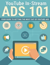 YouTube In Stream Ads eBook with Private Label Rights
