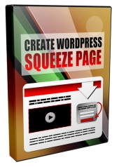Create Squeeze Page in WordPress Video with private label rights