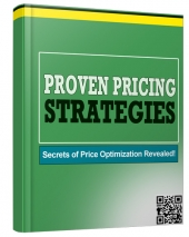 Proven Pricing Strategies eBook with private label rights