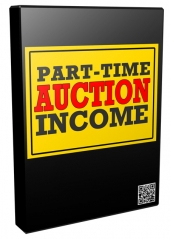 Part Time Auction Income Video with Personal Use Rights