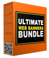 Ultimate Web Banners Bundle Graphic with private label rights