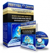 WP Profit Page Creator Software with private label rights