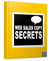 Web Sales Copy Secrets eBook with Resell Rights