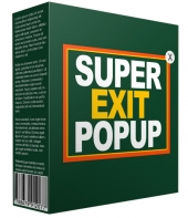Unique Exit Popup Software with Resell Rights