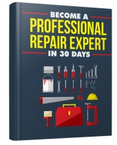 Become A Professional Repair Expert eBook with private label rights