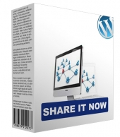 Share It Now WordPress Plugin Software with Personal Use Rights