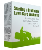 Starting a Profitable Lawn Care Business Free PLR Article with private label rights