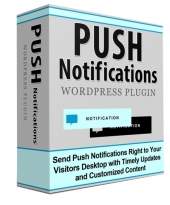Push Notifications Plugin Software with Personal Use Rights