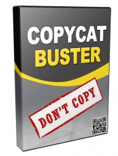 CopyCat Buster Video with Master Resell Rights/Giveaway Rights