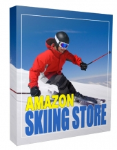 New Amazon Skiing Store Template with private label rights
