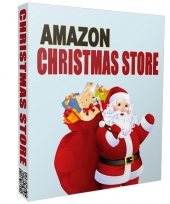 Christmas Azon Store 2015 Template with private label rights