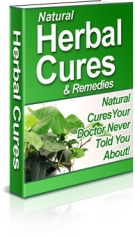 Natural Herbal Cures & Remedies eBook with Resell Rights