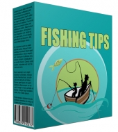 Fishing Tips Niche Blog 2015 Template with private label rights