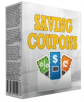 Saving Coupons Information Software eBook with private label rights